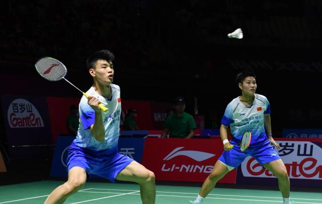 中国(福州)羽毛球公开赛战罢国羽摘得女单混双冠军