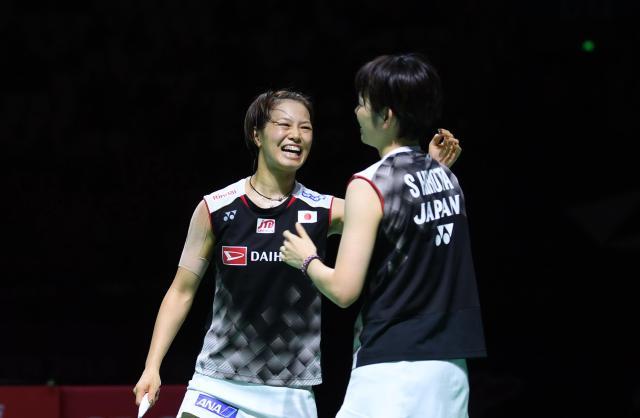 羽毛球――中国(福州)公开赛:日本组合获女双冠军