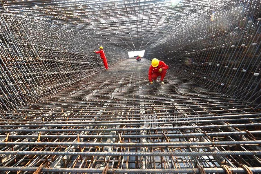 川南城际铁路最新进展 泸县梁场计划年底开始批量生产