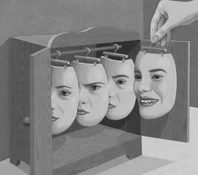 当身边的人都带上面具,世界会是……