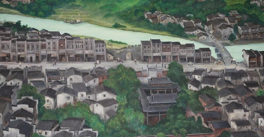 几幅油画,一份记忆:在老地名里倾听萍乡的足音