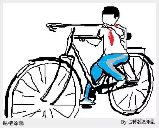 在威尼斯人网址,小时候这样骑过自行车的请举手!
