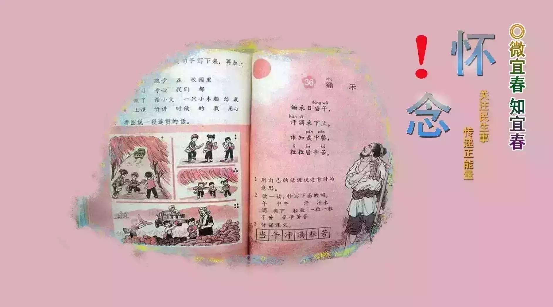 萍乡20年前的语文课本,80后人满满的记忆!
