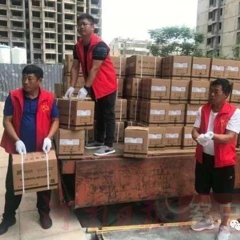 """韩常村和邵寨村这两位村支书,一个捐款又捐物,一个拄着双拐战""""疫""""线"""