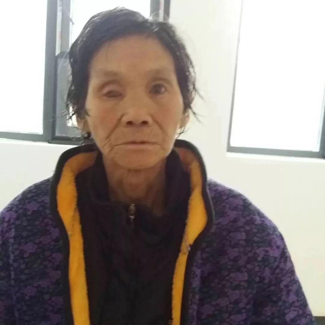 今天,京山一位婆婆走失,希望大家帮忙寻找家人!