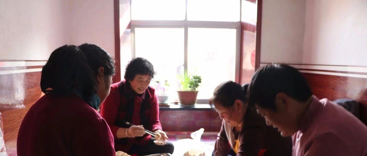 胶东农村结婚习俗,迎亲前一天忙着做上轿饺子