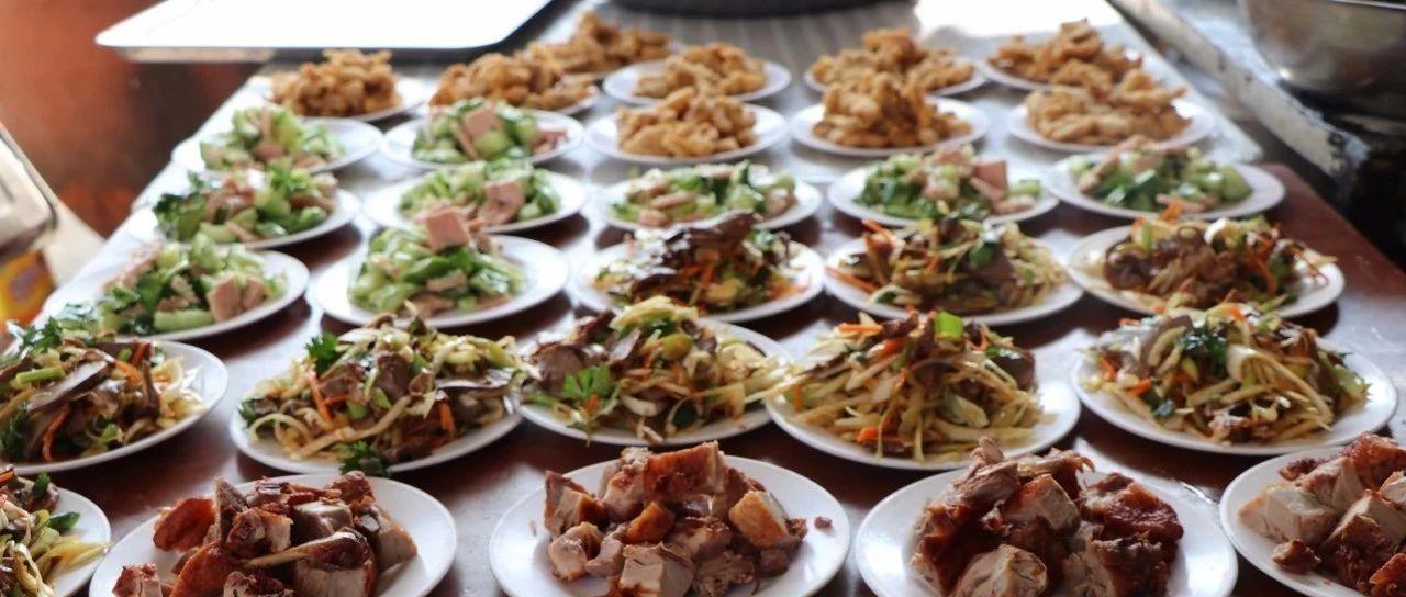 一鸡二笋三汤四蹄,栖霞蛇窝泊镇一场农村婚宴的实景