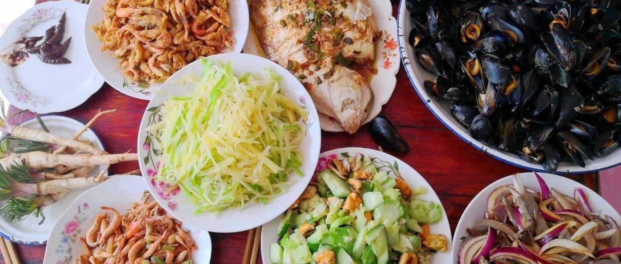 阳春时节在胶东农村吃的一顿家常饭菜,看看都有啥?