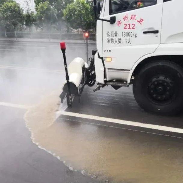 汝州的洒水车雨天洒水,到底si不si傻?原来是这么回事儿……
