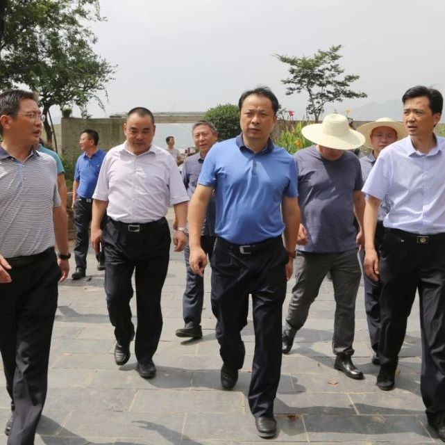 武穴市委书记、市长李新桥检查指导长江干堤防汛工作