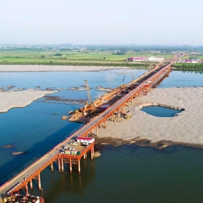 武穴长江大桥工程进展顺利!多项技术高度均为世界顶尖!