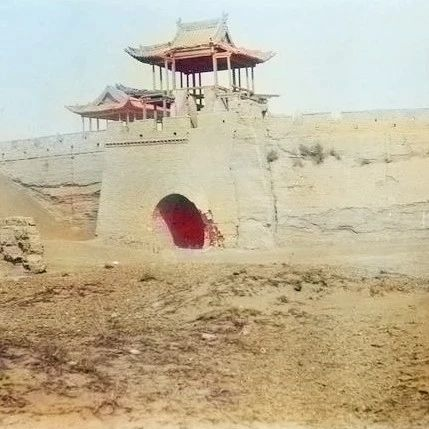 【本地】甘肃安西州1909:一百多年前安西(今瓜州县)旧影