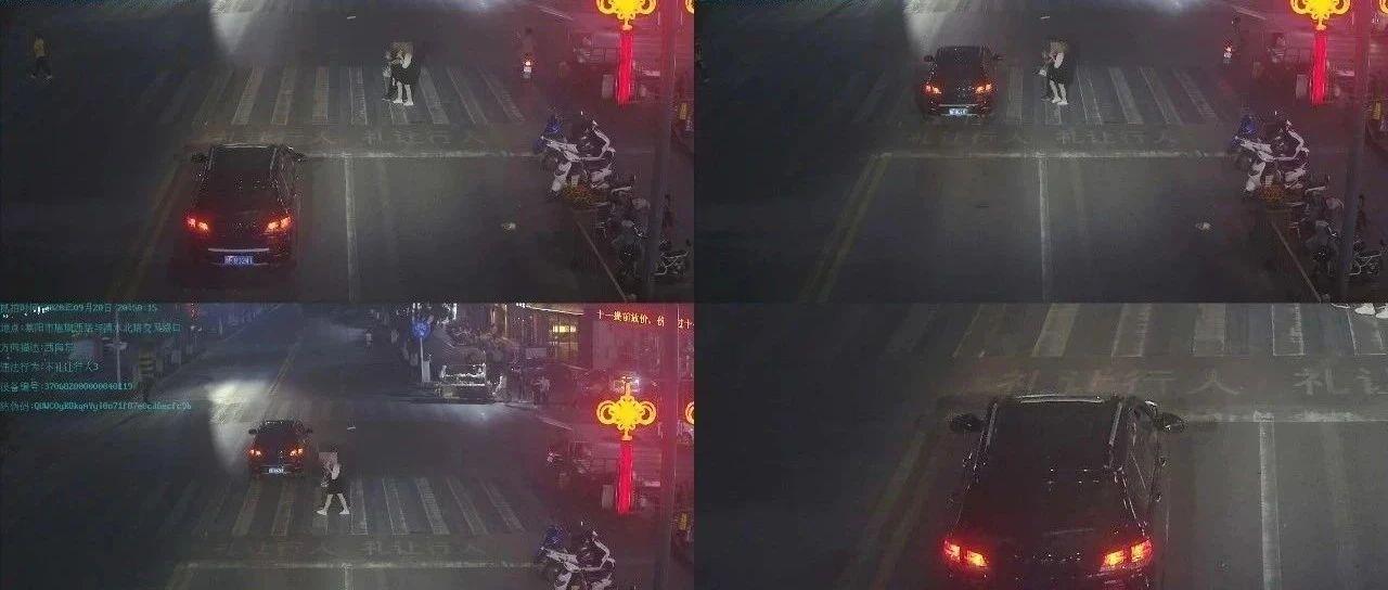 """莱阳交警""""拍了拍""""你:不礼让行人的这些车辆被曝光了!"""