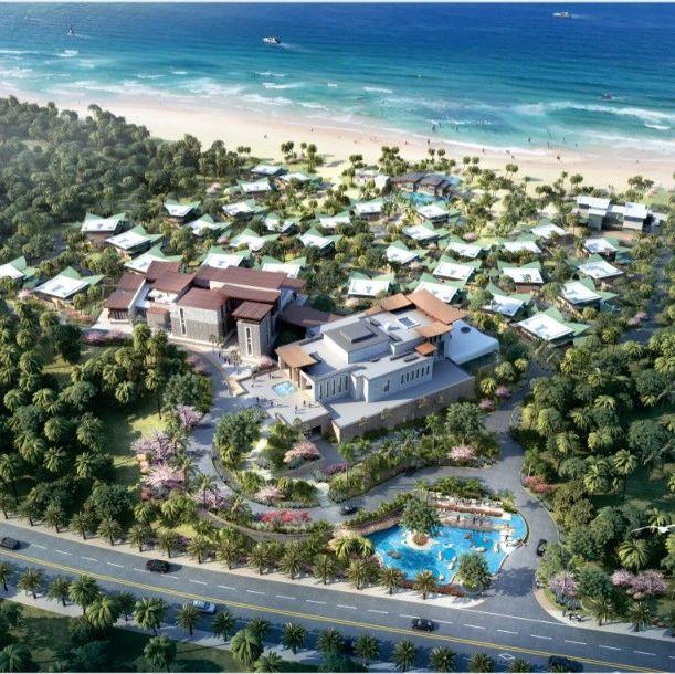 49000多平方米!吴川鼎龙湾圣塔尼度假酒店规划与建筑设计方案出炉!