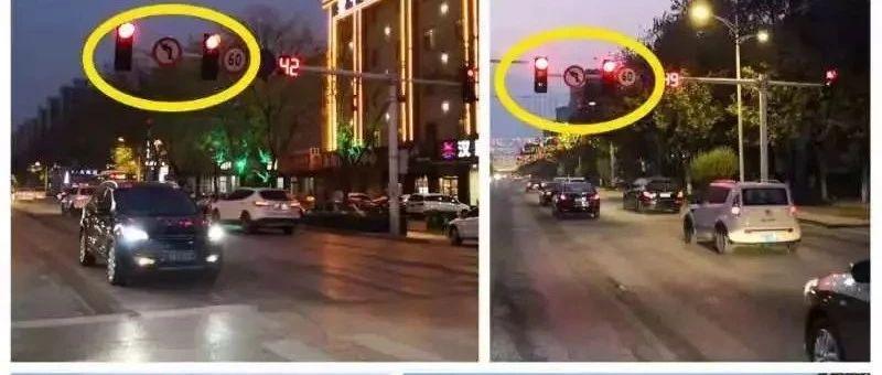 辛集司机请注意,市府街十字路口全面禁止左转