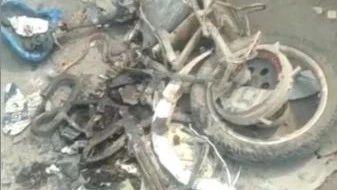 突发!齐河齐南路惨痛一幕...一人被车碾轧当场身亡,电动车被轧粉碎!
