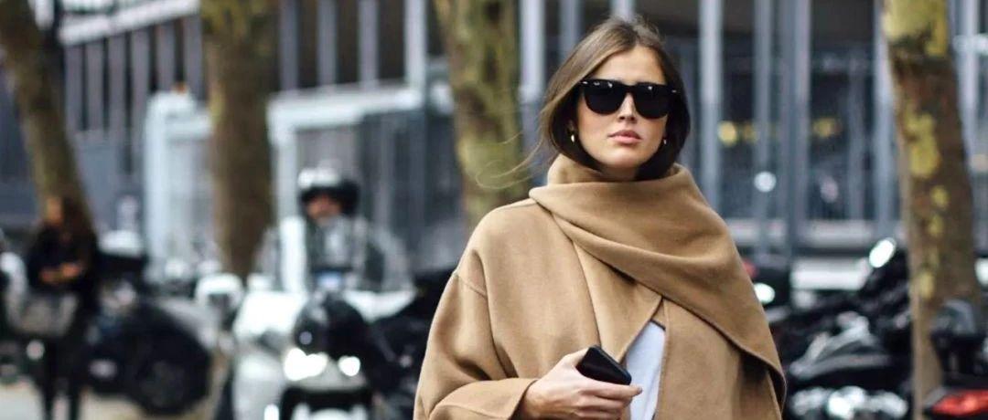 冬季围巾7种围法,适合每一件大衣,快学起来!!!
