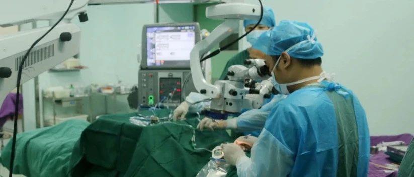 12月22日!武大人民医院眼科专家来潢川县医院坐诊、手术了!