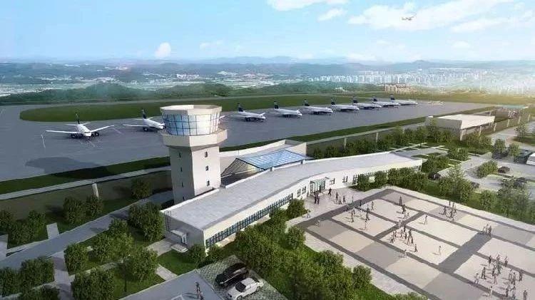"""""""米""""字型航线网、云端机场……重庆这些区县机场未来要""""腾飞""""!有你家乡吗?"""