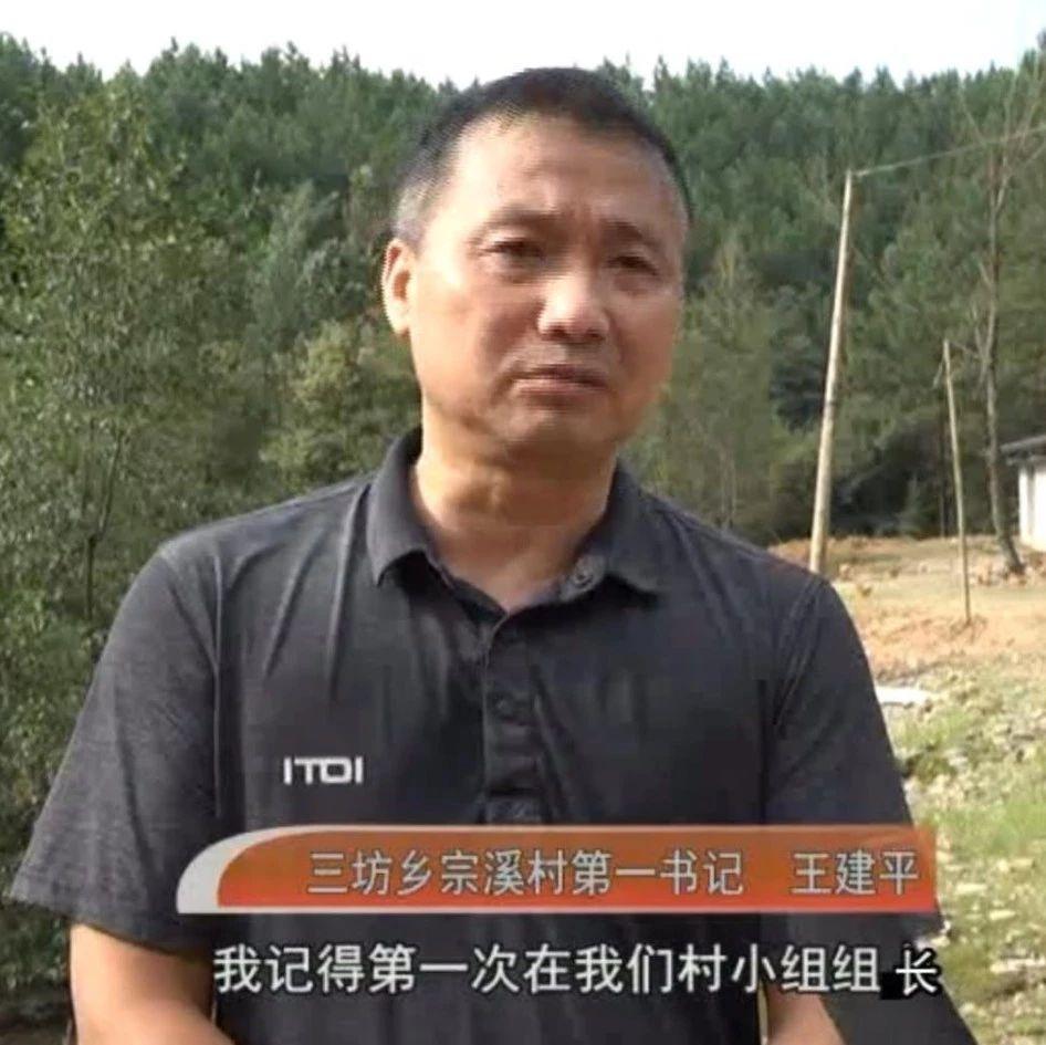 从省城来的驻村第一书记王建平