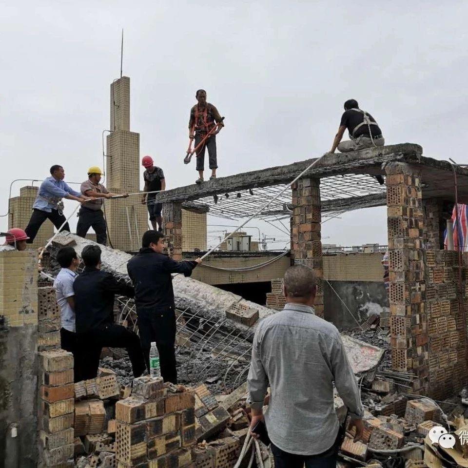 零容忍!尚西国际22起高层楼顶违建被拆除,拆违面积约1206平方米