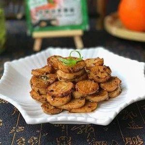 黑胡椒酱煎杏鲍菇:明明是一道素菜,却吃出了肉的香味