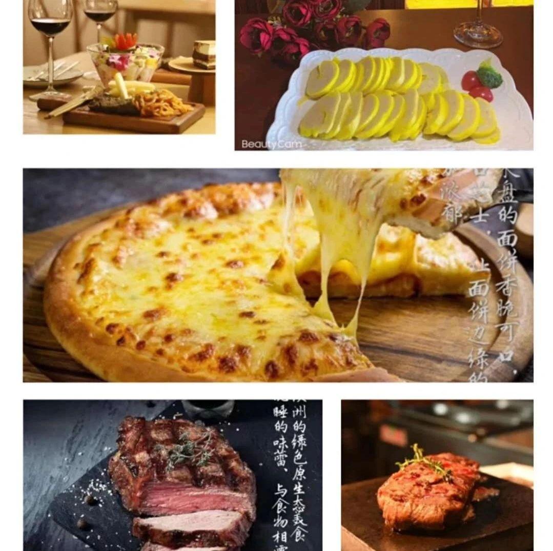 158元抢购原价286元的龙冈TheONE西餐厅全家福牛排套餐!