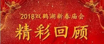 2018双鹤湖新春庙会精彩回顾!!