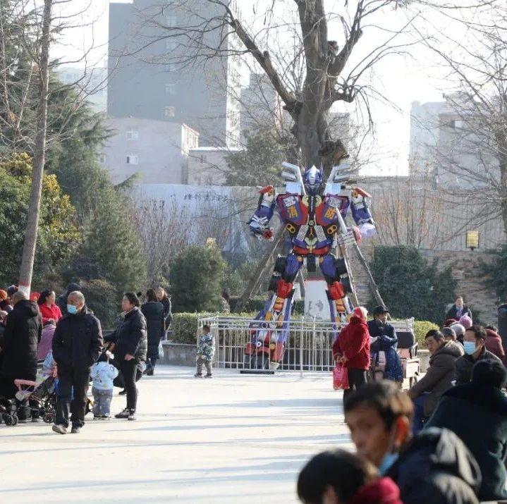 新郑1300平方米主题公园建成开放!位置在...