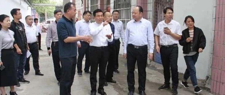 市政府安全生产第一督导组到宝丰县督导校园及周边安全和双重预防体系建设工作