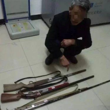 金寨一男子非法持有枪支,被法院起诉!