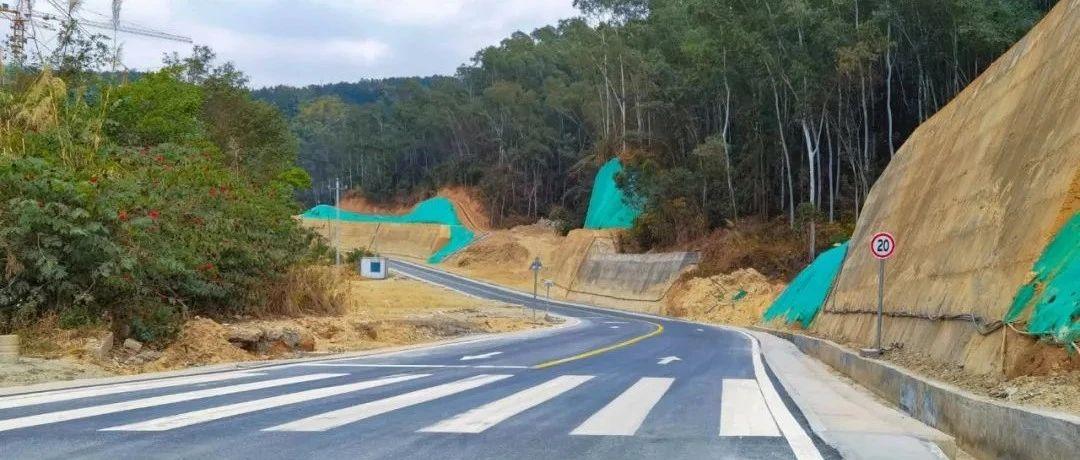 好消息!永春又一条新路建成通车!这里还有一座休闲公园正在建设中……