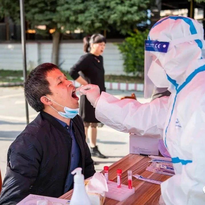 你有参与吗?永春桃城、蓬壶、五里街、横口、介福等乡镇开展大规模人群核酸筛查检测应急演练