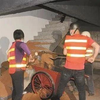 永春这些商铺私挖地下室,被强制整改!