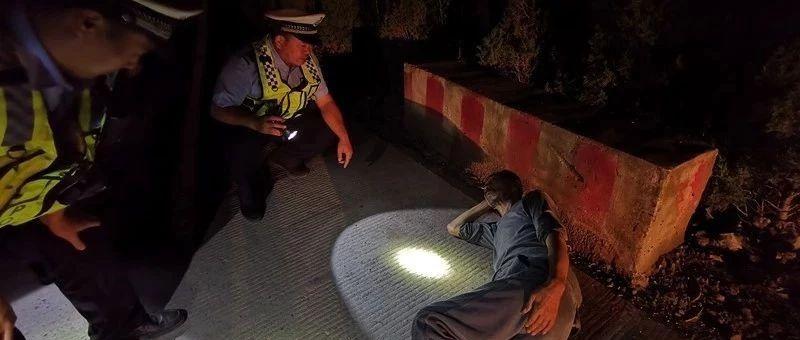 �@!天�馓��崤荞R路上睡�X,幸遇汝州交警……
