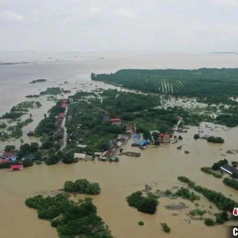 揪心!群众被困洲岛6小时,益阳这一片全被淹!1000余名村民紧急转移!