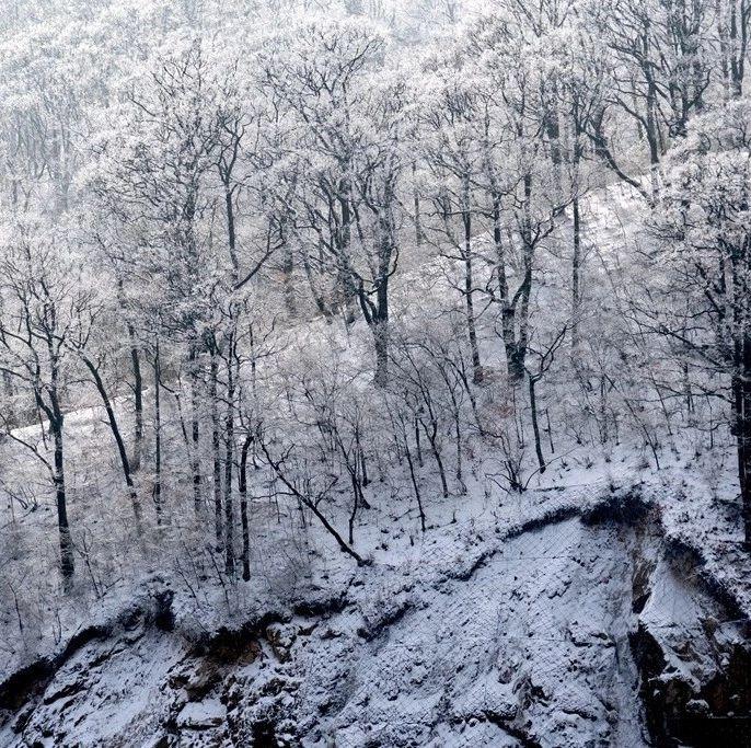瑞雪增色马鬃岭,银装素裹更好看!