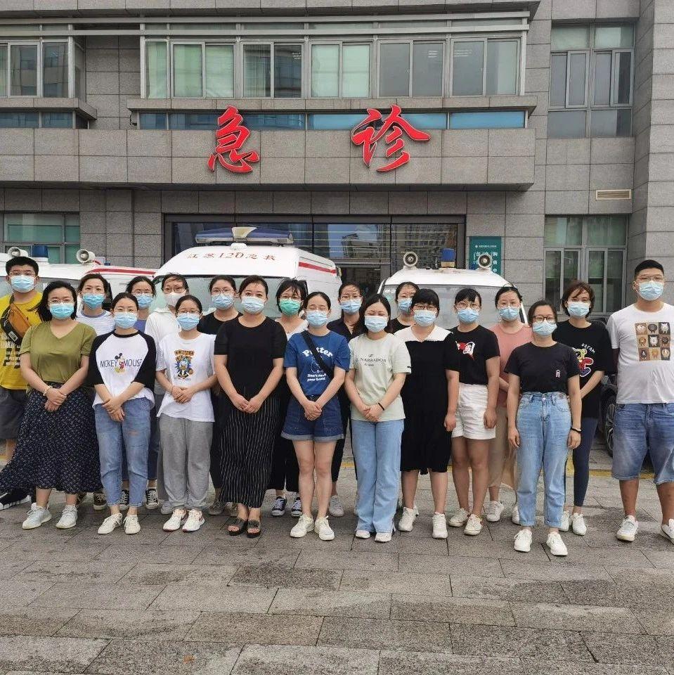 我区支援南京市核酸检测采集工作