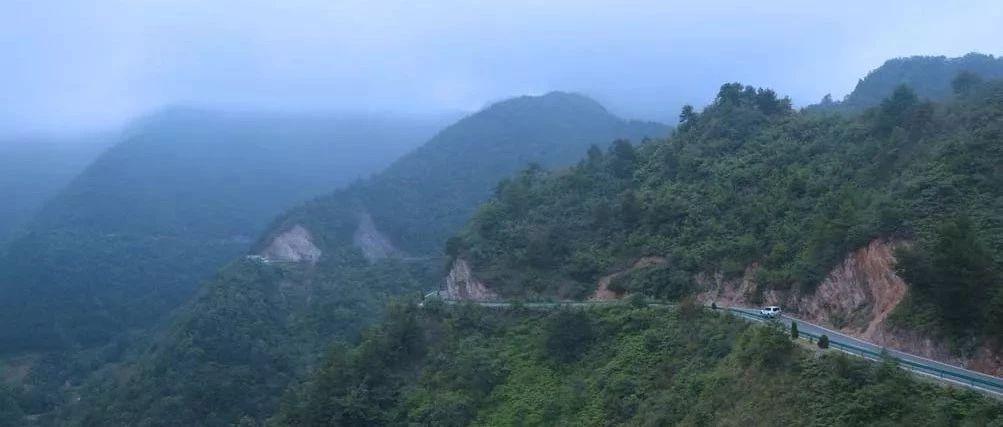 行摄山阳|陕鄂边界山阳最远乡镇西照川路上的风景如临仙境!