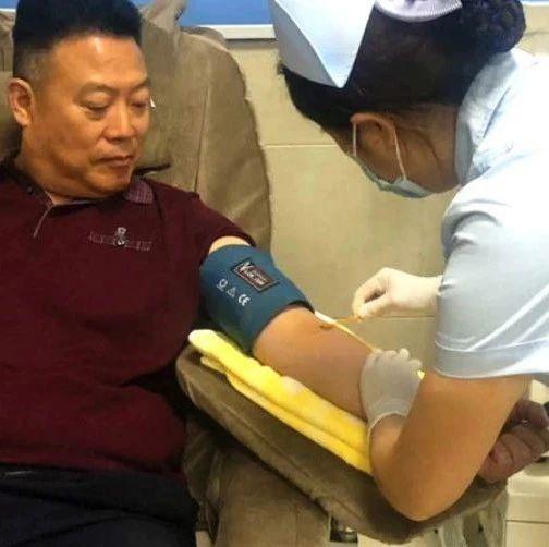 点赞!这位内江男子连续18年献血15600毫升!相当于4个成人的血液总量!