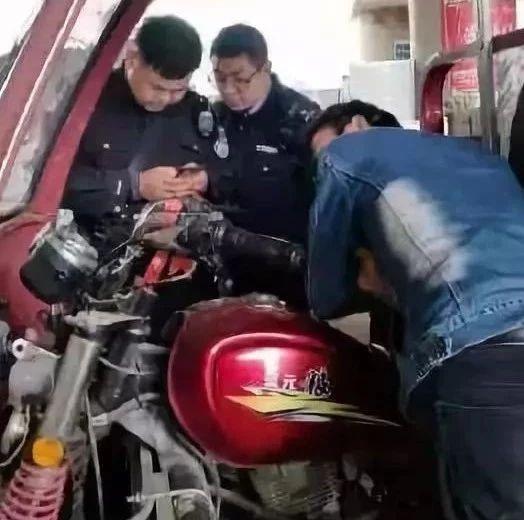 【安全检查不放松】山阳高坝派出所民警逐一排查摩托车店安全隐患!