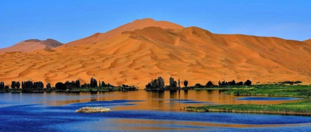 巴丹吉林沙漠��由赀z144��湖泊成因至今�橹i