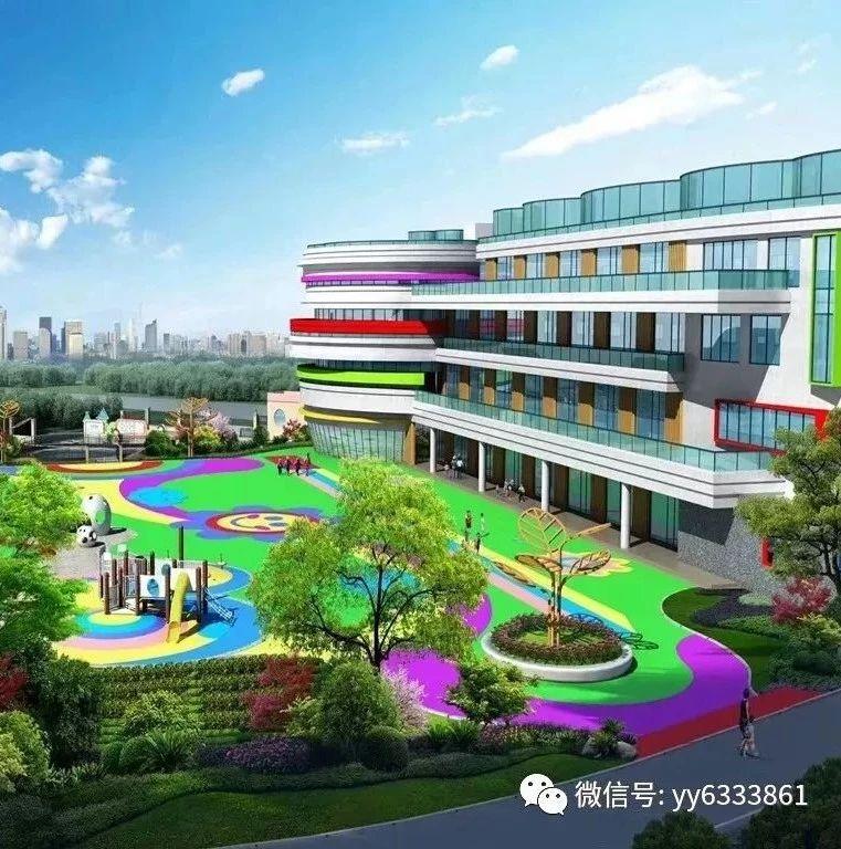 喜讯!湖口县第一幼儿园新建项目主体工程封顶啦!