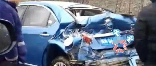 【视频】突发!霍邱G105国道又出车祸!现场惨烈!