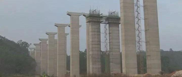 玉湛高速公路完成近60%,预计2019年底可建成通车了!