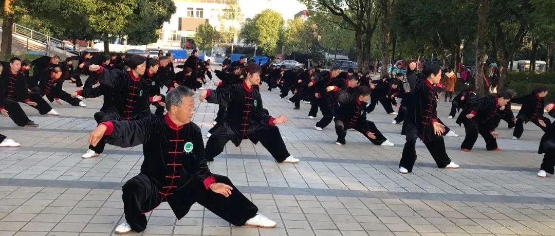 乐虎区太极拳剑协会积极传承太极拳文化推广全民健身