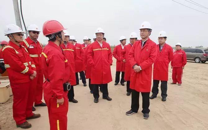 中石油总会计师刘跃珍调研大港油田