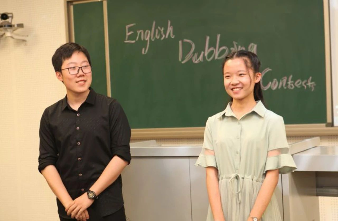 油田实验中学举办英文电影配音比赛