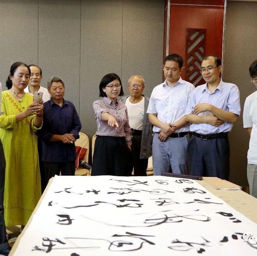 江苏沛县文艺界代表团一行来固镇开展文化交流活动