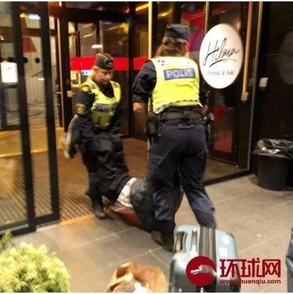 瑞典警察粗暴,有的中国人糊涂!丨睿观点